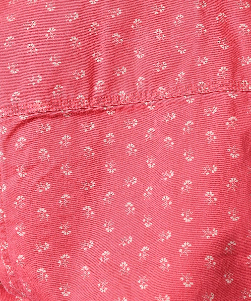 「RALPH LAUREN」 フラワーパターン デニムジャケットサムネイル
