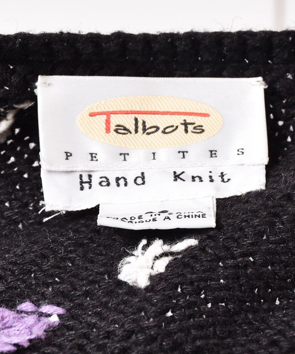 「Talbots」テープデザイン コットンニットカーディガンサムネイル