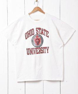 古着「オハイオ大学」カレッジプリントTシャツ 古着のネット通販 古着屋グレープフルーツムーン