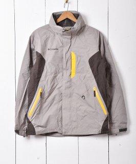 古着「Columbia」アウトドア ナイロンジャケット  グレー 古着のネット通販 古着屋グレープフルーツムーン