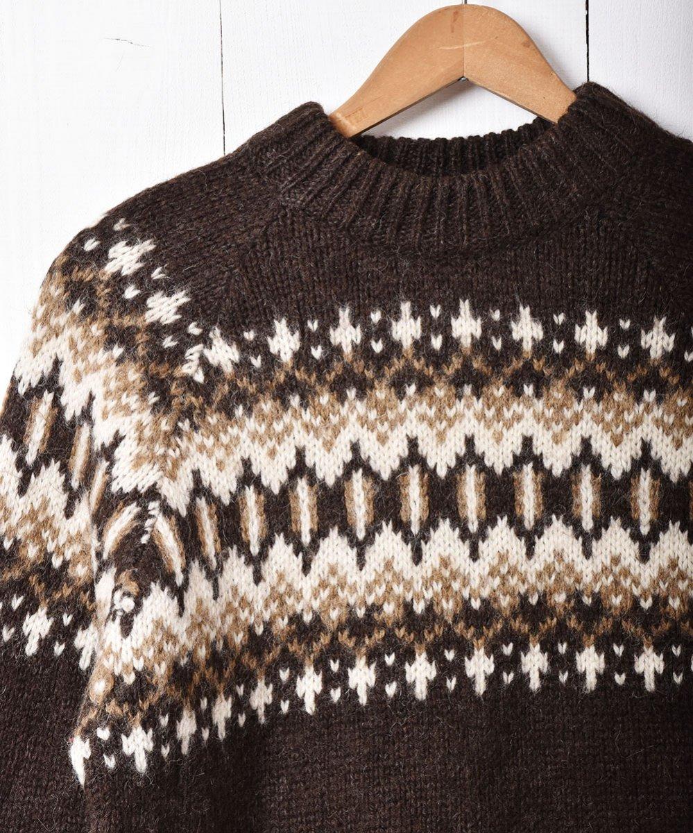 デンマーク製 ノルディックセーター ブラウンサムネイル