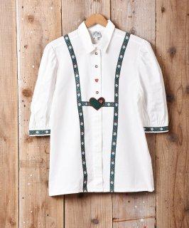 古着ヨーロッパ製 半袖 チロルシャツ 古着のネット通販 古着屋グレープフルーツムーン