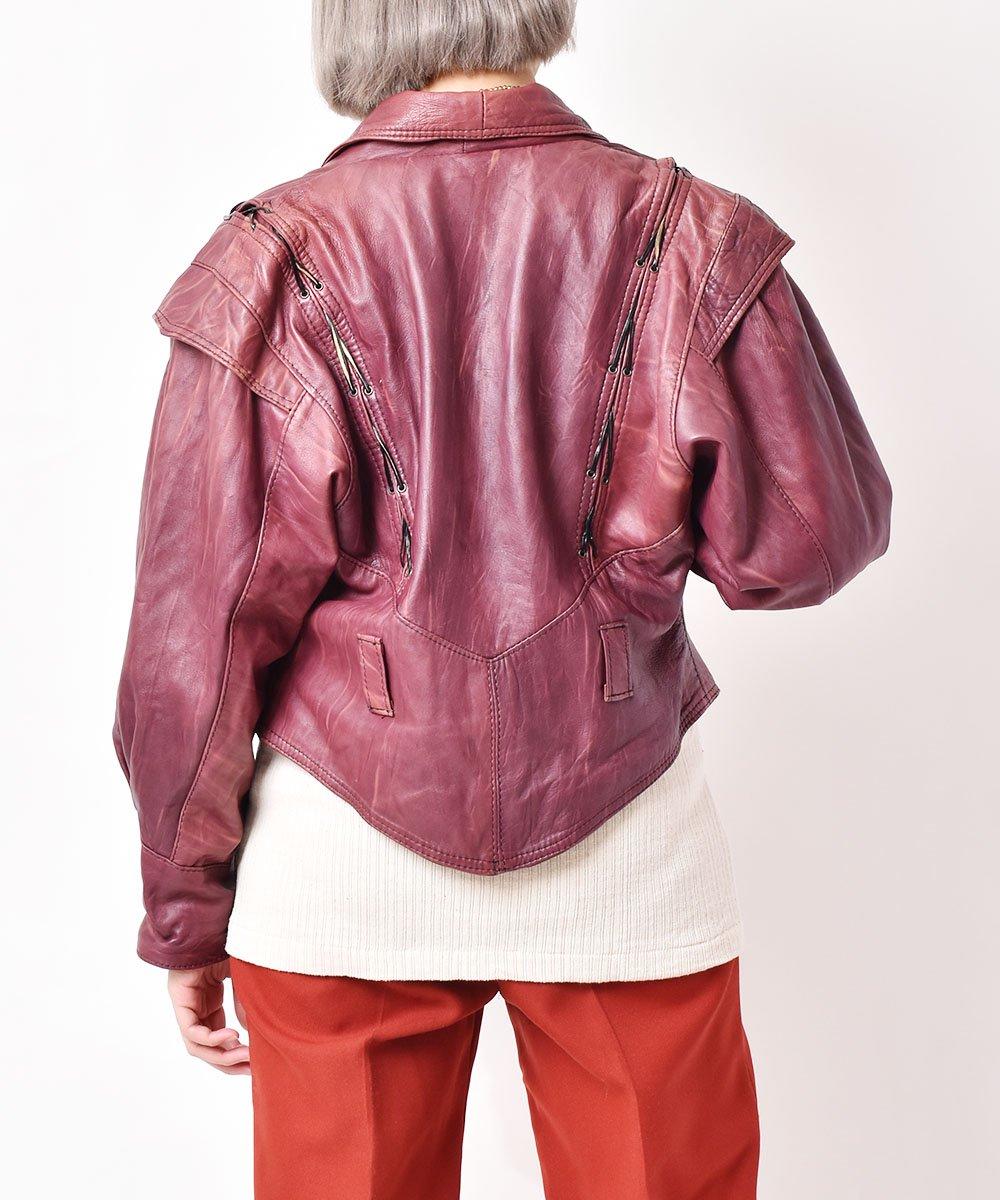 レザーデザインジャケットサムネイル