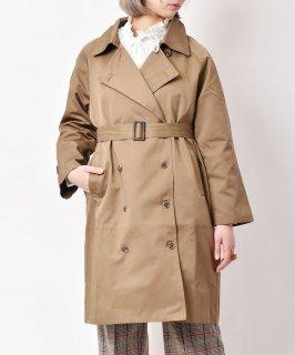 古着「meridian」トレンチコート ブラウン 古着のネット通販 古着屋グレープフルーツムーン