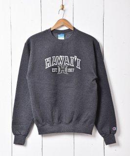古着「Champion」 HAWAI'I プリントスウェット 古着のネット通販 古着屋グレープフルーツムーン