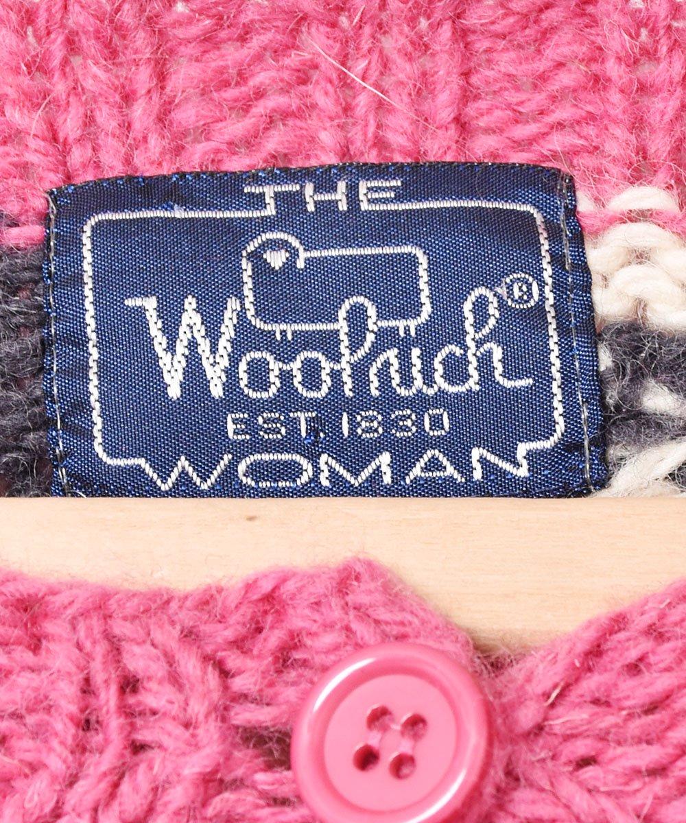 「Wool rich」 羊柄 カーディガンサムネイル