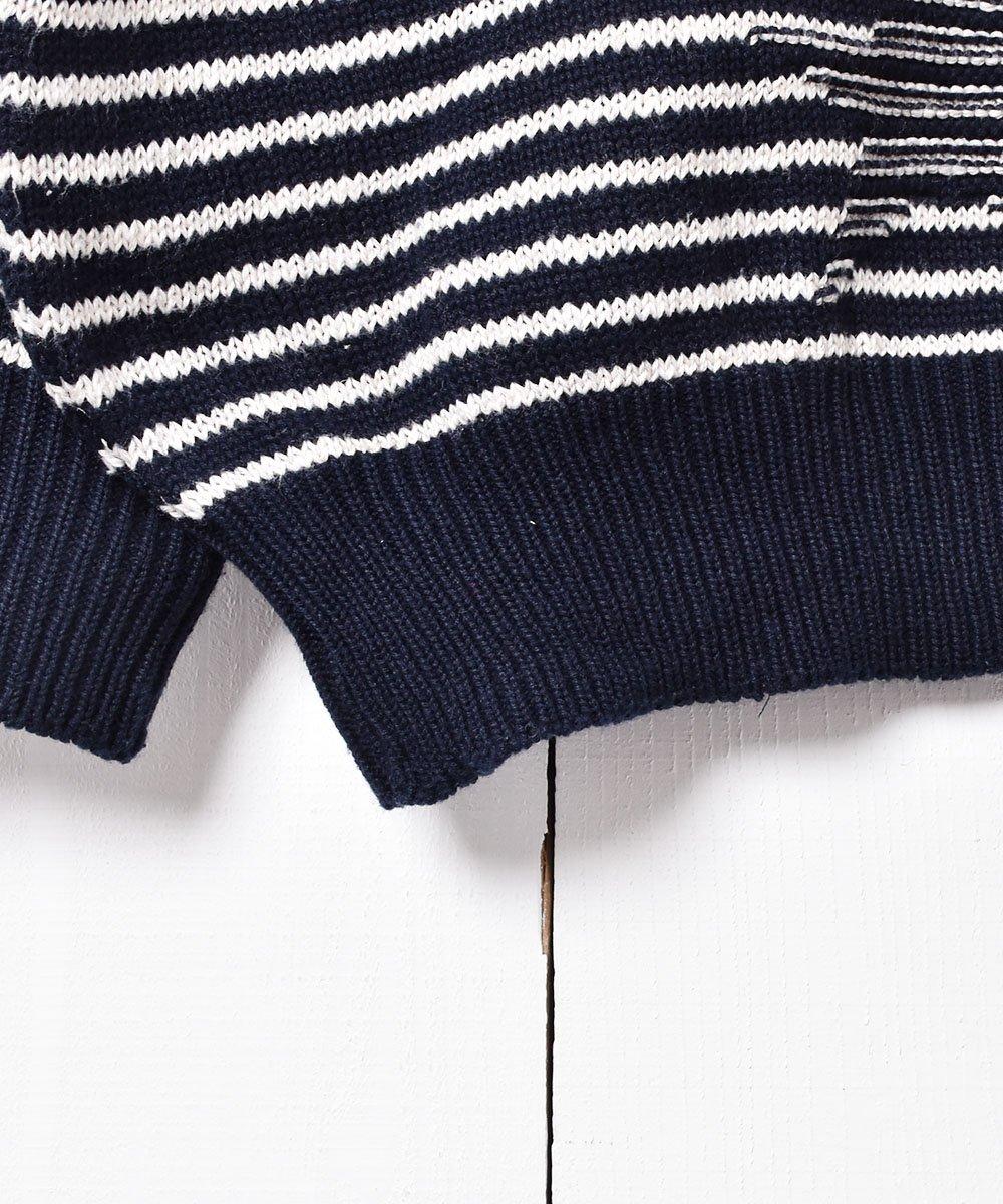 ドイツ製 アドミラルズカップ 刺繍 コットンニットセーターサムネイル