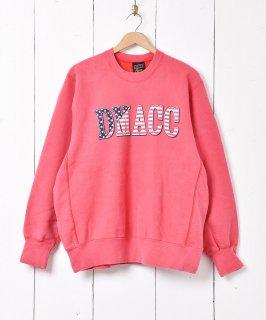 古着アメリカ製 DMACC プリントスウェット 古着のネット通販 古着屋グレープフルーツムーン