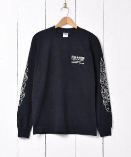 古着「FULL BOAR CYCLES」バックプリント ロングスリーブTシャツ 古着のネット通販 古着屋グレープフルーツムーン