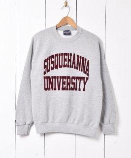 古着アメリカ製 サスケハナ大学 カレッジスウェット 古着のネット通販 古着屋グレープフルーツムーン