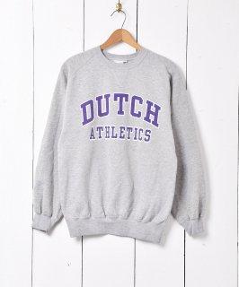 古着「DUTCH ATHLETICS」プリントスウェットシャツ 古着のネット通販 古着屋グレープフルーツムーン