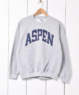 古着「ASPEN」プリントスウェットシャツ 古着のネット通販 古着屋グレープフルーツムーン