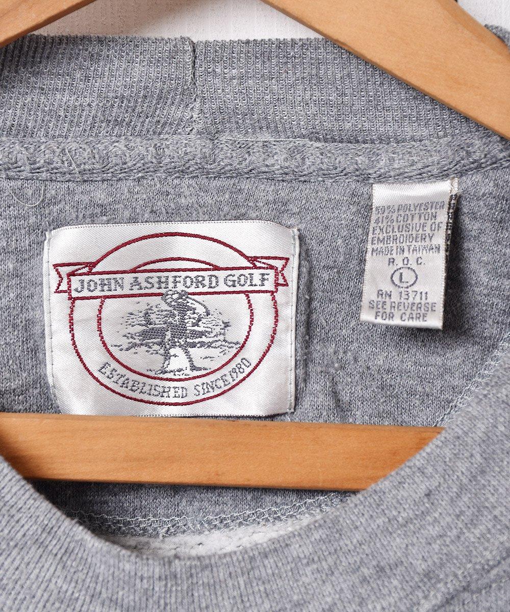 前Vガゼット ゴルフ刺繍 スウェットシャツサムネイル