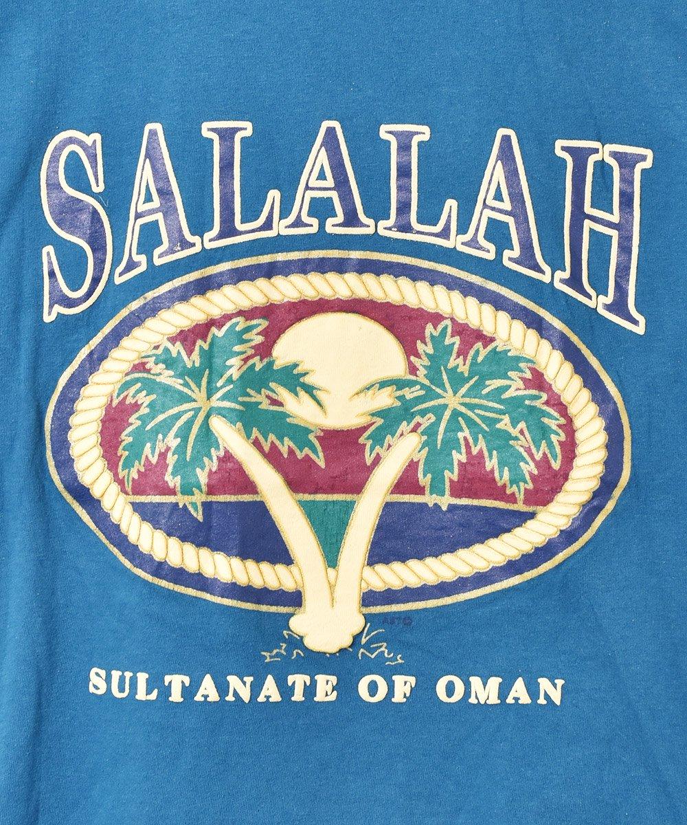 サラーラ ヤシの木 ラバープリント Tシャツサムネイル