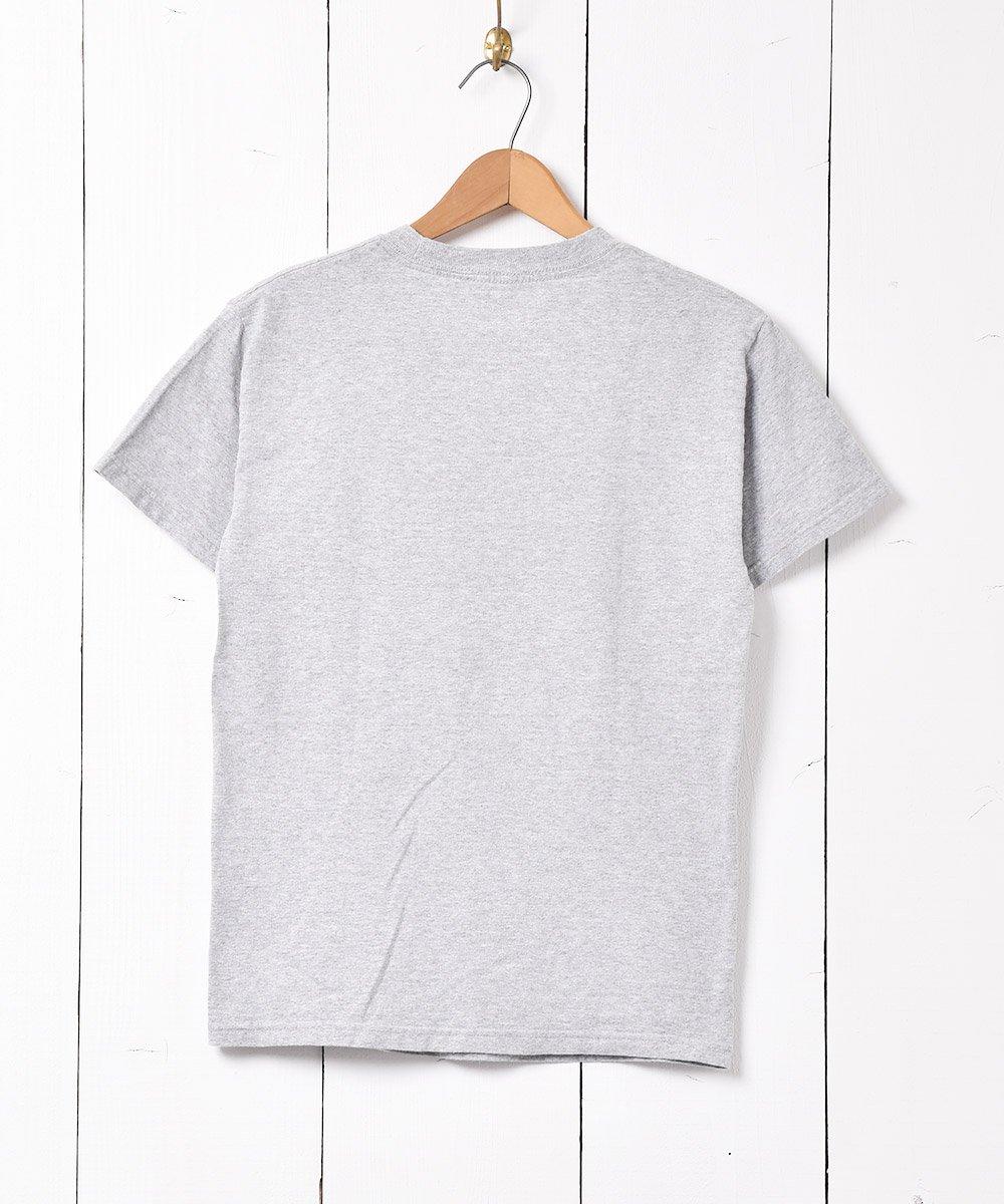 「PEPSI」企業ロゴプリント Tシャツ グレーサムネイル