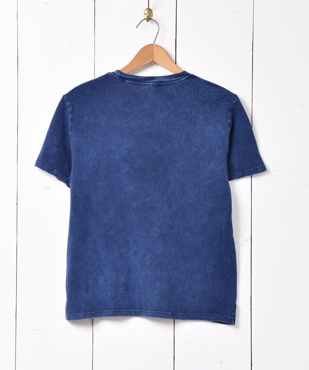 「RALPH LAUREN」 ポニーロゴ ワンポイントTシャツ ネイビーサムネイル