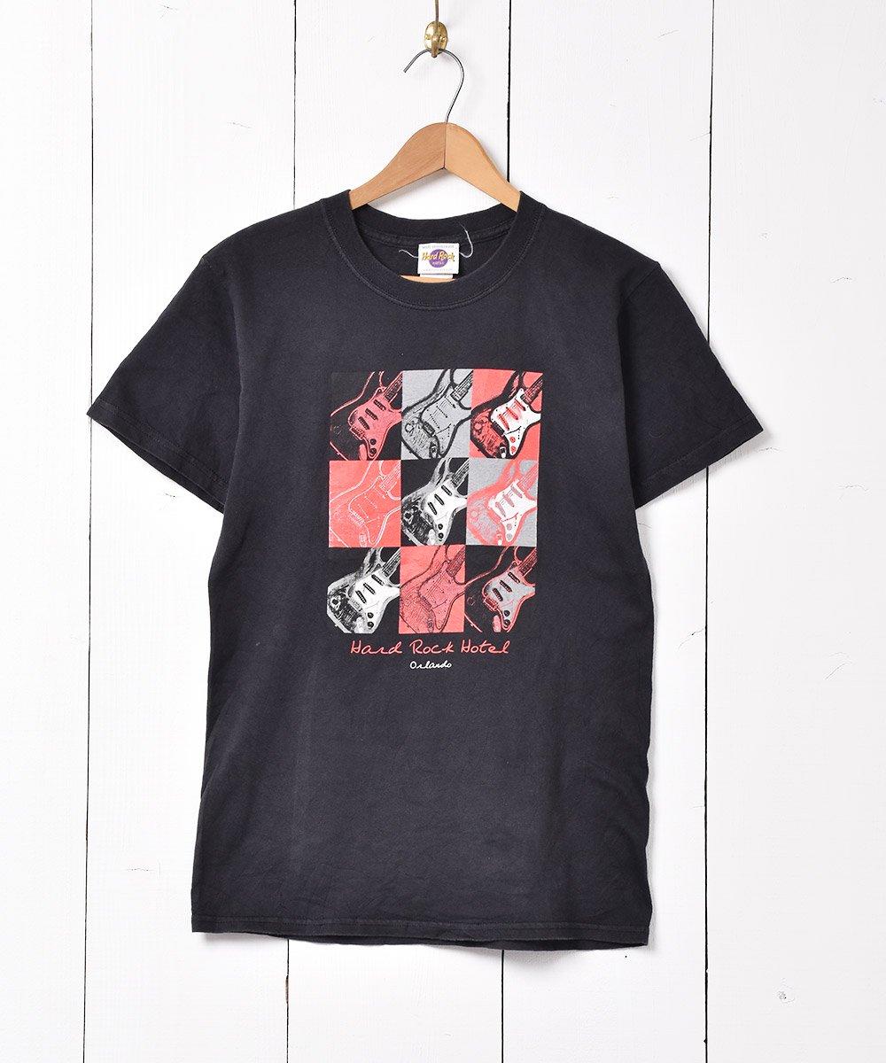 古着 「Hard Rock HOTEL」 オーランド ギタープリント Tシャツ ブラック 古着 ネット 通販 古着屋グレープフルーツムーン