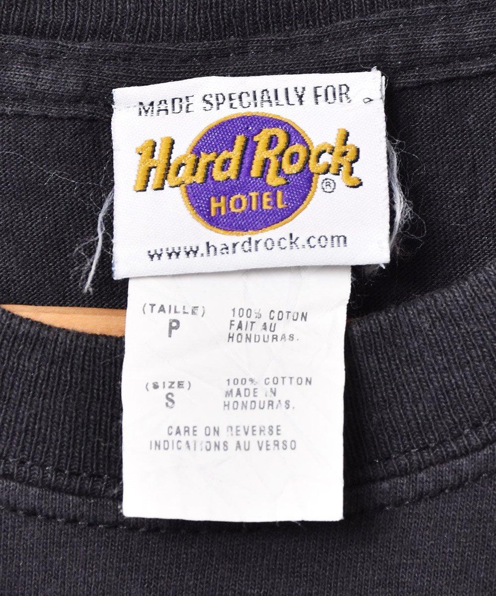 「Hard Rock HOTEL」 オーランド ギタープリント Tシャツ ブラックサムネイル