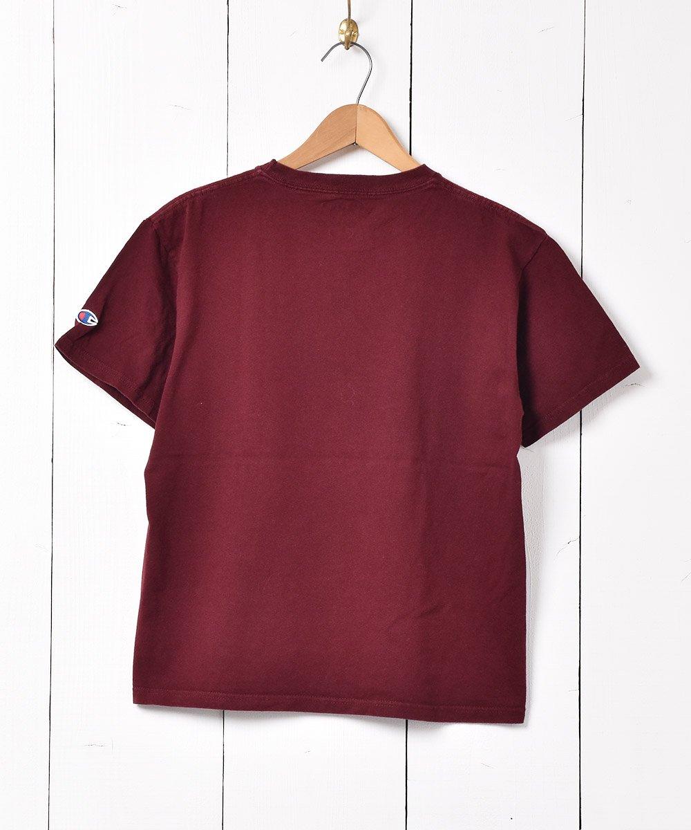 「Champion」ハーバード大学 プリントTシャツ ワインレッドサムネイル