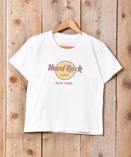 """古着""""Hard Rock CAFE"""" NEW YORK プリントTシャツ 古着のネット通販 古着屋グレープフルーツムーン"""