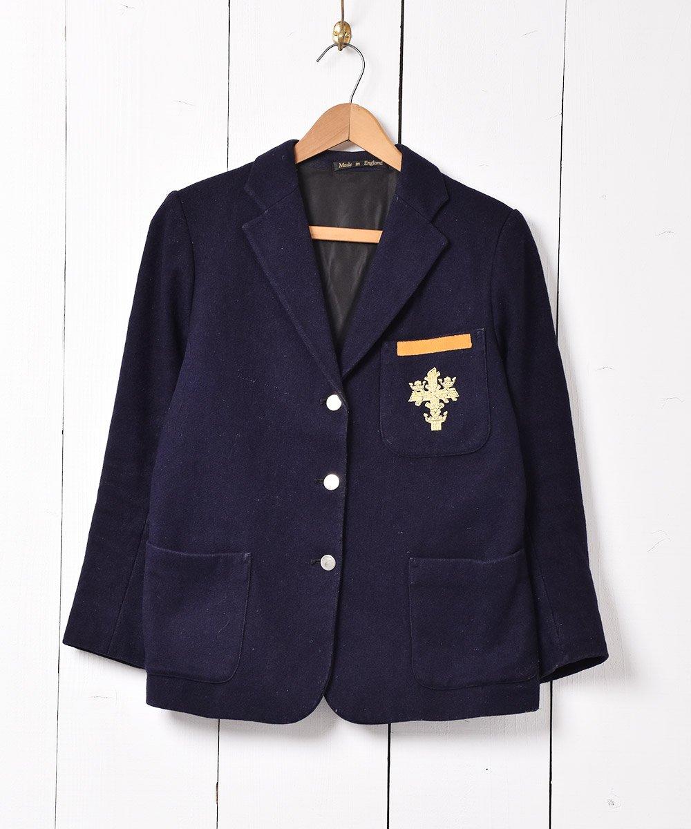 古着 イングランド製 ウールテーラードジャケット 古着 ネット 通販 古着屋グレープフルーツムーン