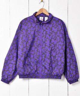 古着90's 「JC PENNEY」 総柄ナイロンジャケット 古着のネット通販 古着屋グレープフルーツムーン