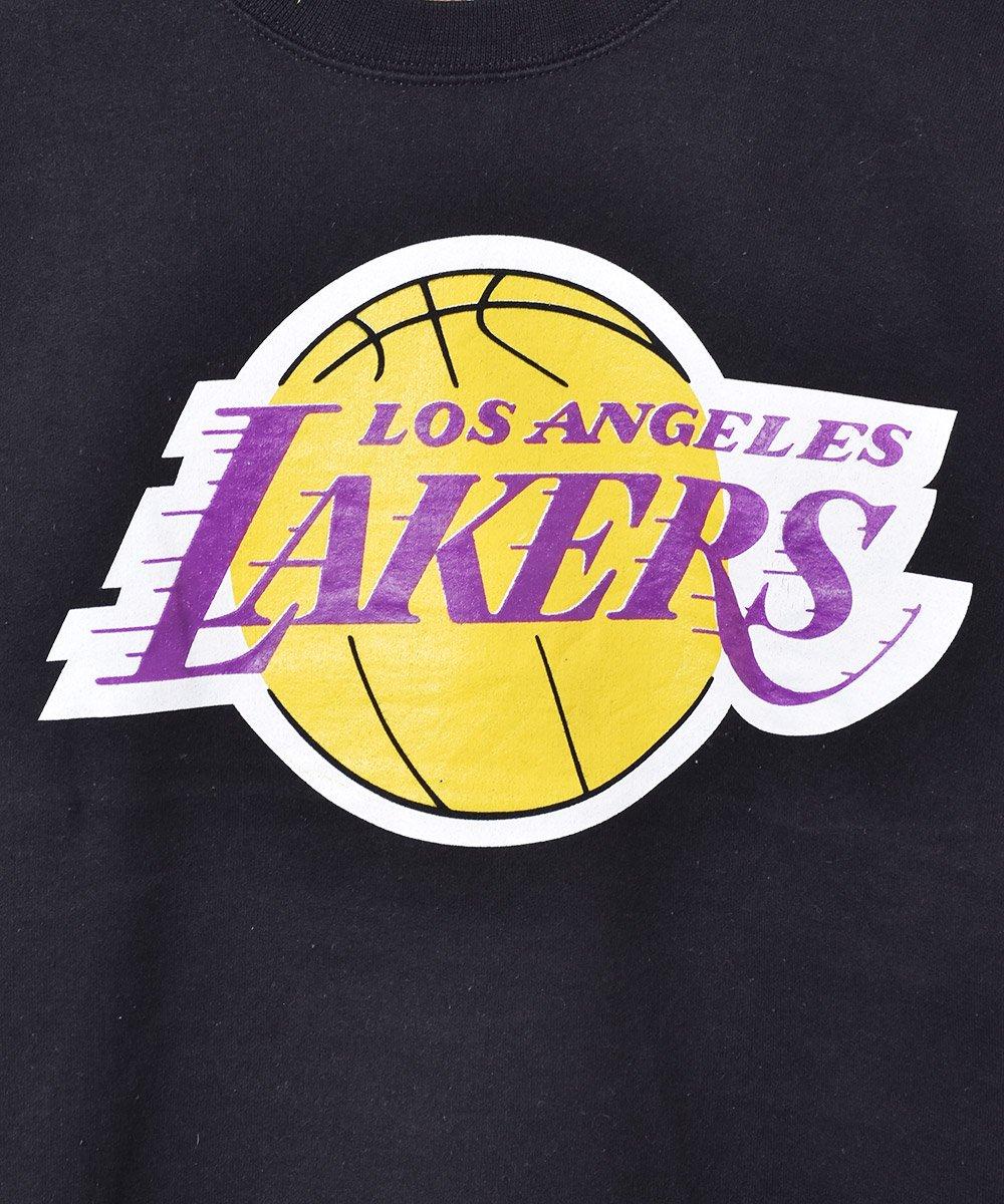 NBA レイカーズ プリントスウェットシャツ ブラックサムネイル