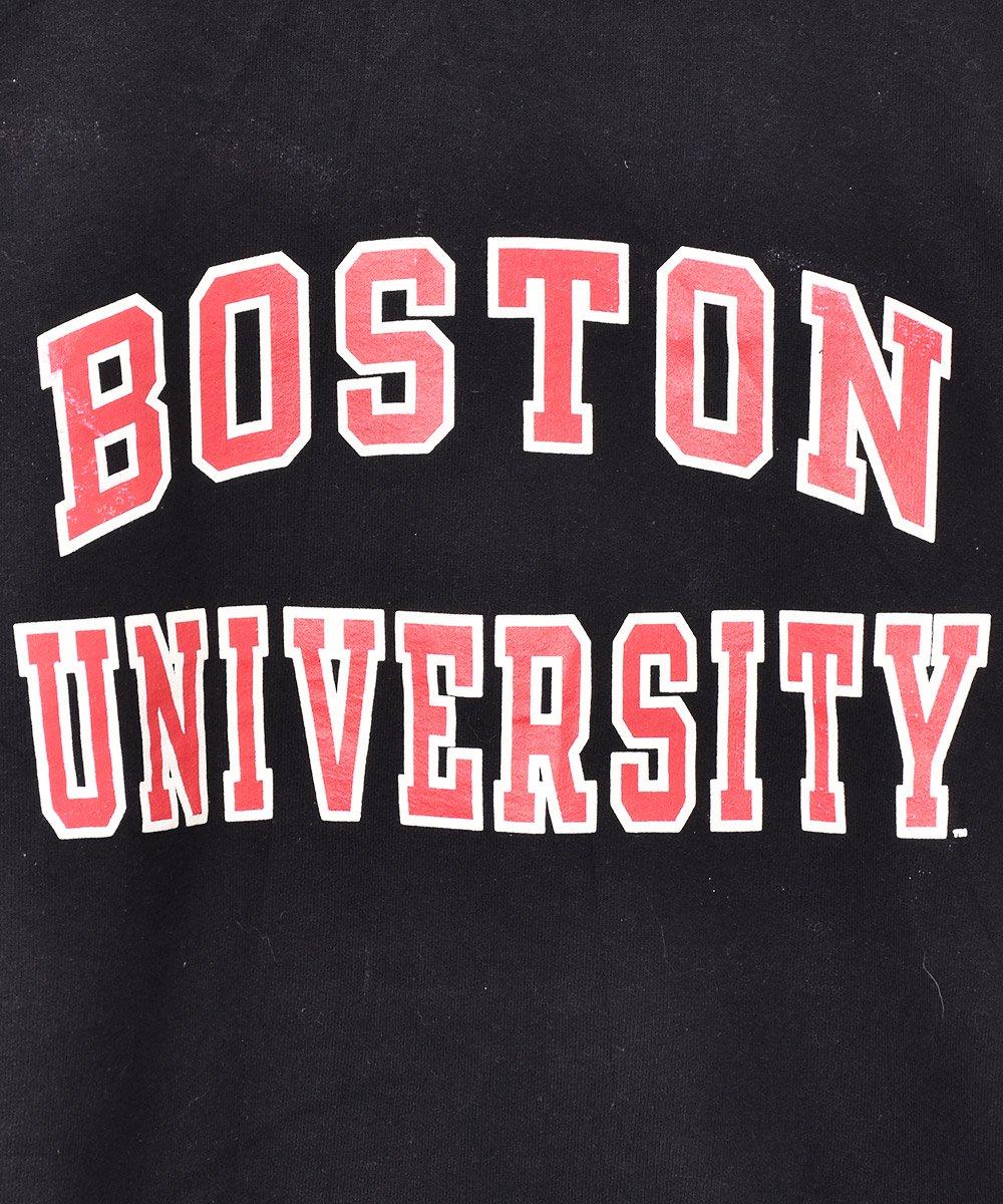 「Champion」2段プリント ボストン大学 プリント スウェットシャツサムネイル