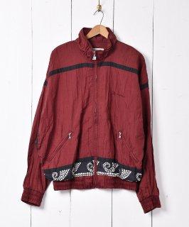 古着バックデザイン ナイロンジャケット 古着のネット通販 古着屋グレープフルーツムーン