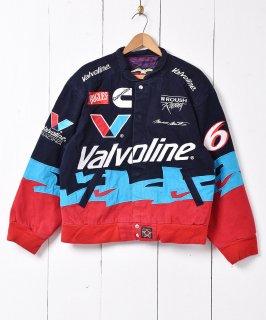 古着アメリカ製 JHデザイン レーシングジャケット 古着のネット通販 古着屋グレープフルーツムーン