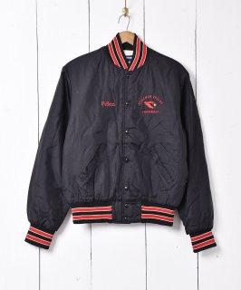 古着アメリカ製 「CARDINALS」ナイロン スタジアムジャケット 古着のネット通販 古着屋グレープフルーツムーン