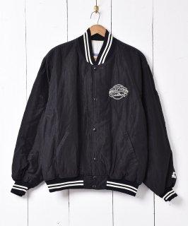 古着アメリカ製 「Hollywood」ナイロン スタジアムジャケット 古着のネット通販 古着屋グレープフルーツムーン