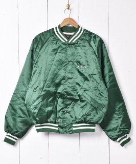 古着アメリカ製「muskies inc.」 ナイロンスタジアムジャケット 古着のネット通販 古着屋グレープフルーツムーン