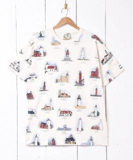 古着アメリカ製 総柄 プリントTシャツ 古着のネット通販 古着屋グレープフルーツムーン