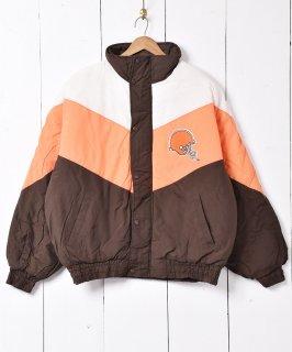 古着「LOGO7」 NFL 中綿ジャケット 古着のネット通販 古着屋グレープフルーツムーン