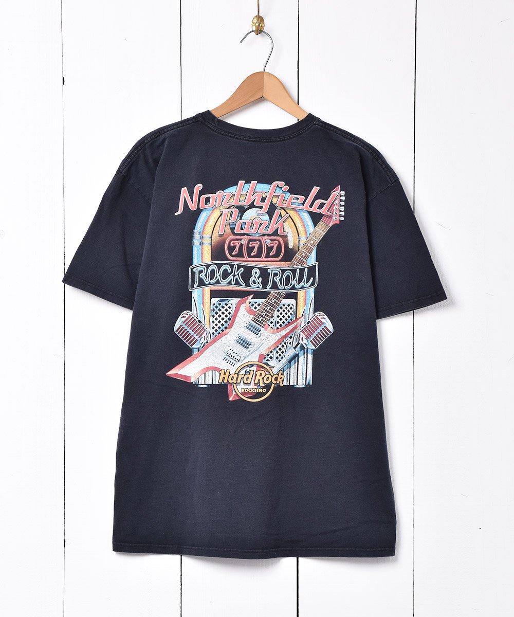 Hard Rock CAFE ノースフィールドパーク プリントTシャツサムネイル