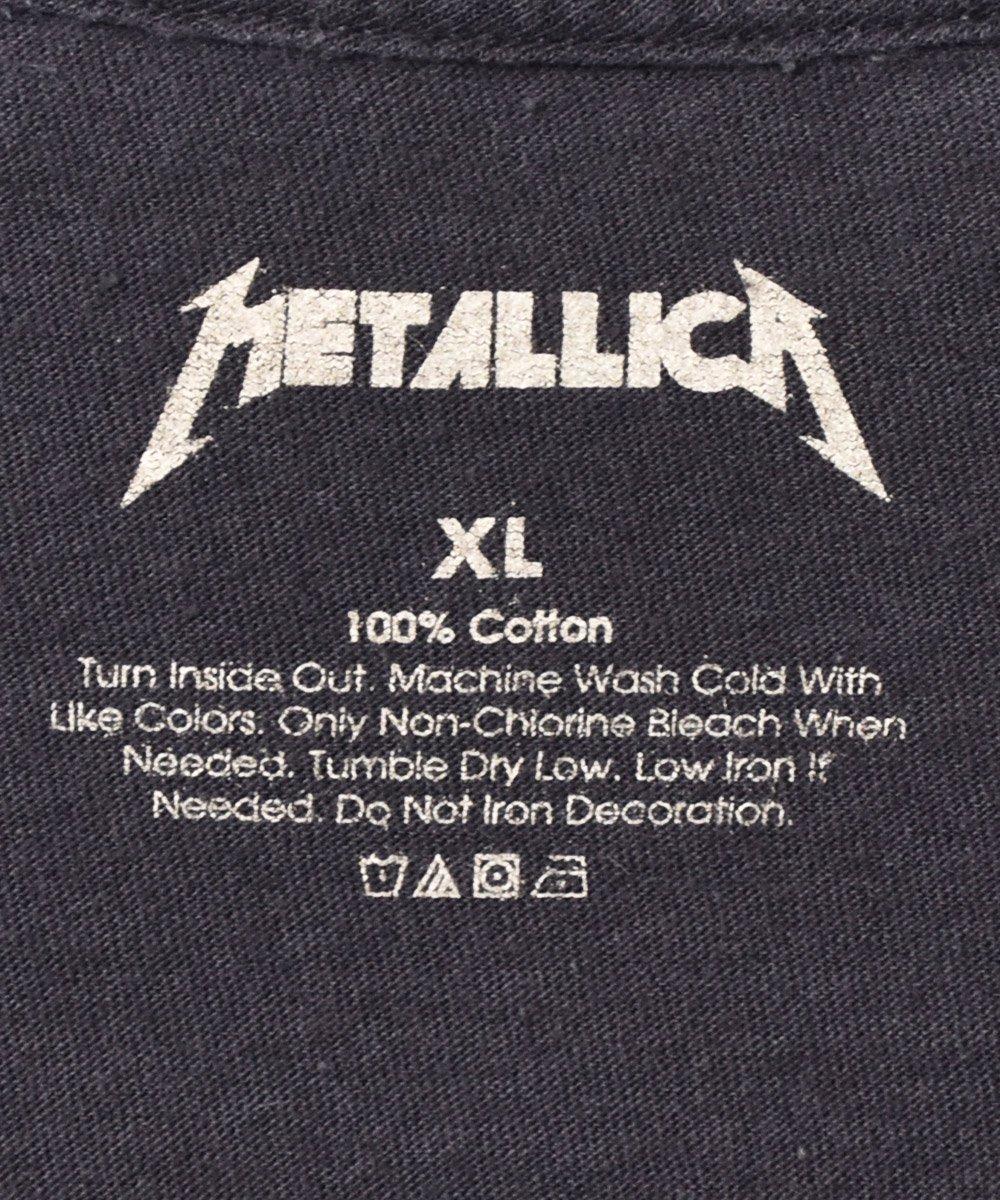 METALLICAプリント Tシャツ ブラックサムネイル