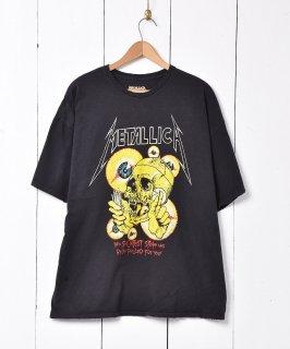 古着METALLICAプリント Tシャツ ブラック 古着のネット通販 古着屋グレープフルーツムーン