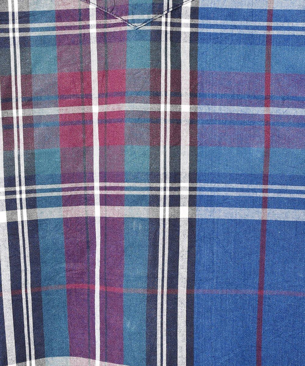 アメリカ製 「Wrangler」 クレイジーパターン ロングスリーブシャツサムネイル