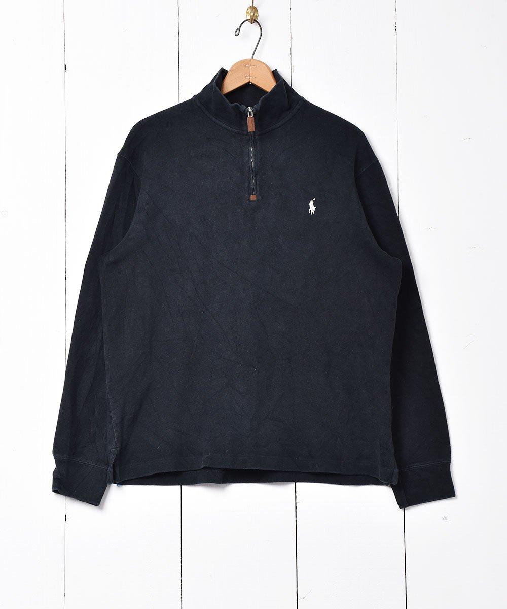 古着 「Ralph Lauren」ハーフジップセーター 古着 ネット 通販 古着屋グレープフルーツムーン