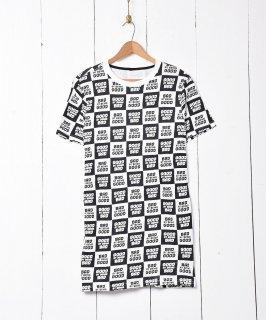 古着総柄 ロゴプリントTシャツ 古着のネット通販 古着屋グレープフルーツムーン