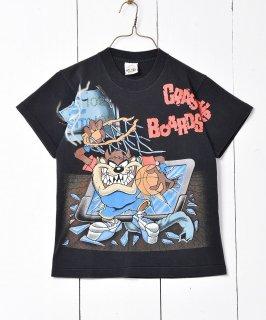 古着ルーニーテューンズ プリントTシャツ ダズマニアン・デビル  古着のネット通販 古着屋グレープフルーツムーン