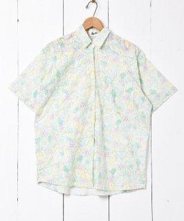 古着総柄 ショートスリーブシャツ 古着のネット通販 古着屋グレープフルーツムーン