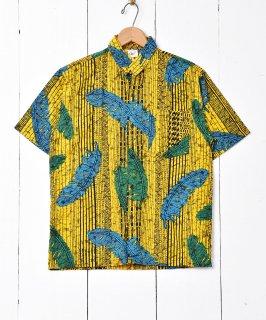 古着羽根イラスト ショートスリーブシャツ 古着のネット通販 古着屋グレープフルーツムーン