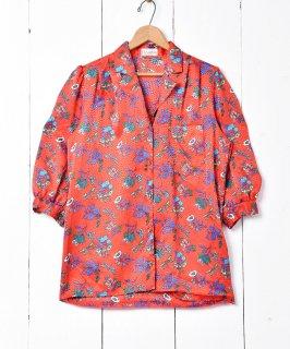 古着花×トンボ セブンスリーブシャツ 古着のネット通販 古着屋グレープフルーツムーン