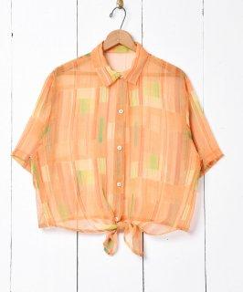 古着ビタミンカラー ショートスリーブシャツ 古着のネット通販 古着屋グレープフルーツムーン