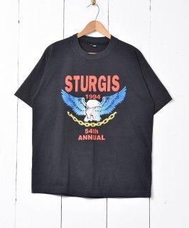古着アメリカ製 1944年 STURGIS「54th ANNUAL」Tシャツ 古着のネット通販 古着屋グレープフルーツムーン