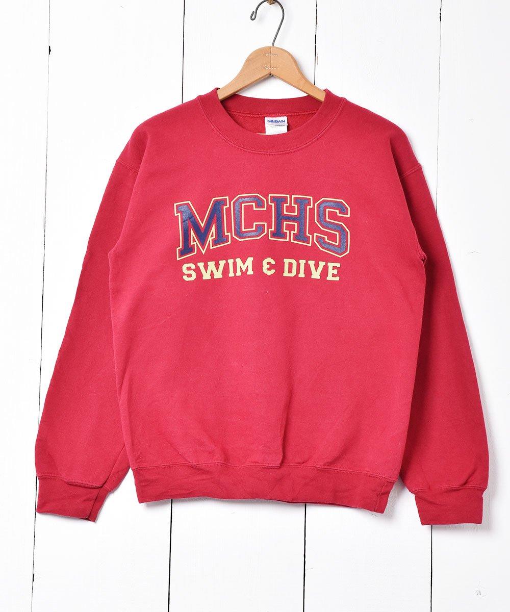 古着 「MCHS」カレッジプリントスウェット 古着 ネット 通販 古着屋グレープフルーツムーン