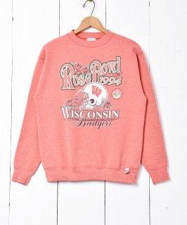 古着アメリカ製 1994年 「Rose Bowl」Badgersプリントスウェット 古着のネット通販 古着屋グレープフルーツムーン