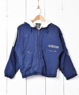 古着「adidas」サイドライン 中綿入りジャケット 古着のネット通販 古着屋グレープフルーツムーン